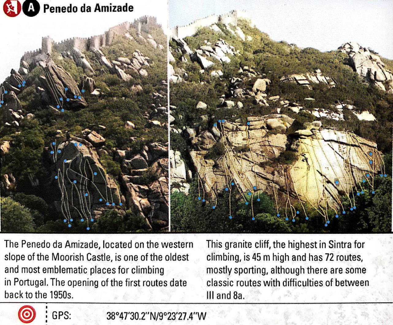 Sintra : Pestrian Route (Kletterweg)