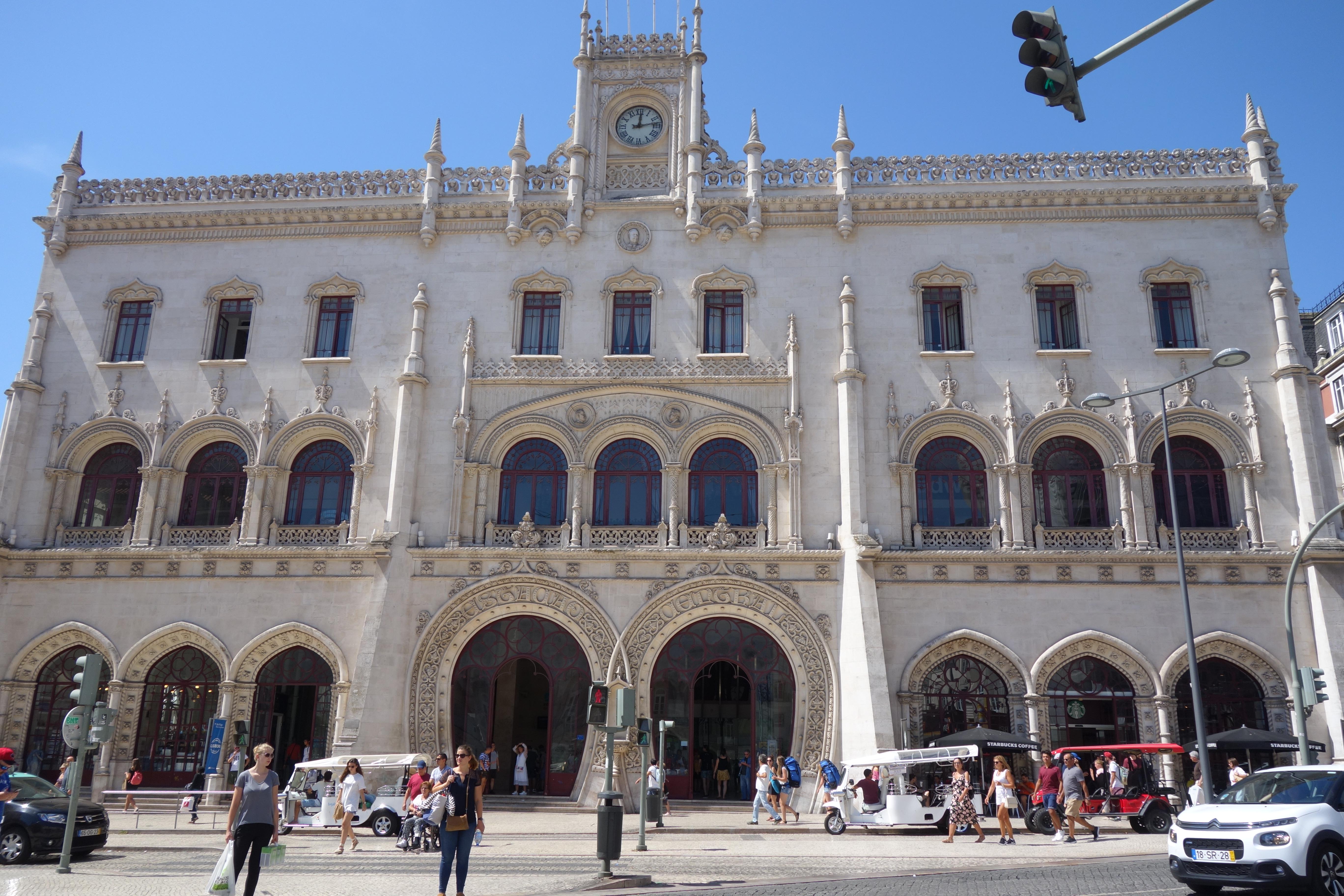 Lissabon: Bahnhof Rossio