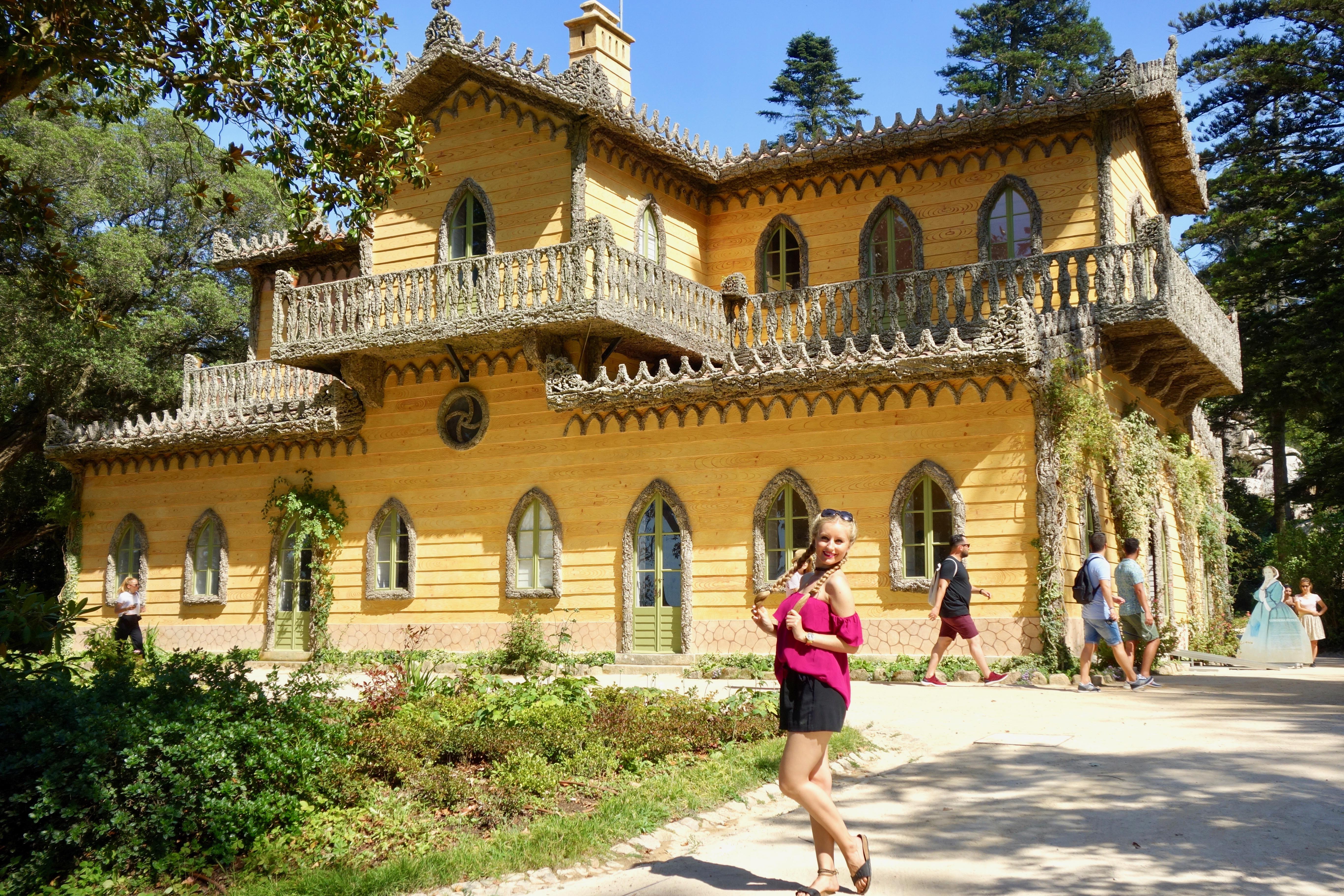 Sintra : Palácio da Pena (UNESCO Weltkulturerbe) Chalet der Gräfin von Edla