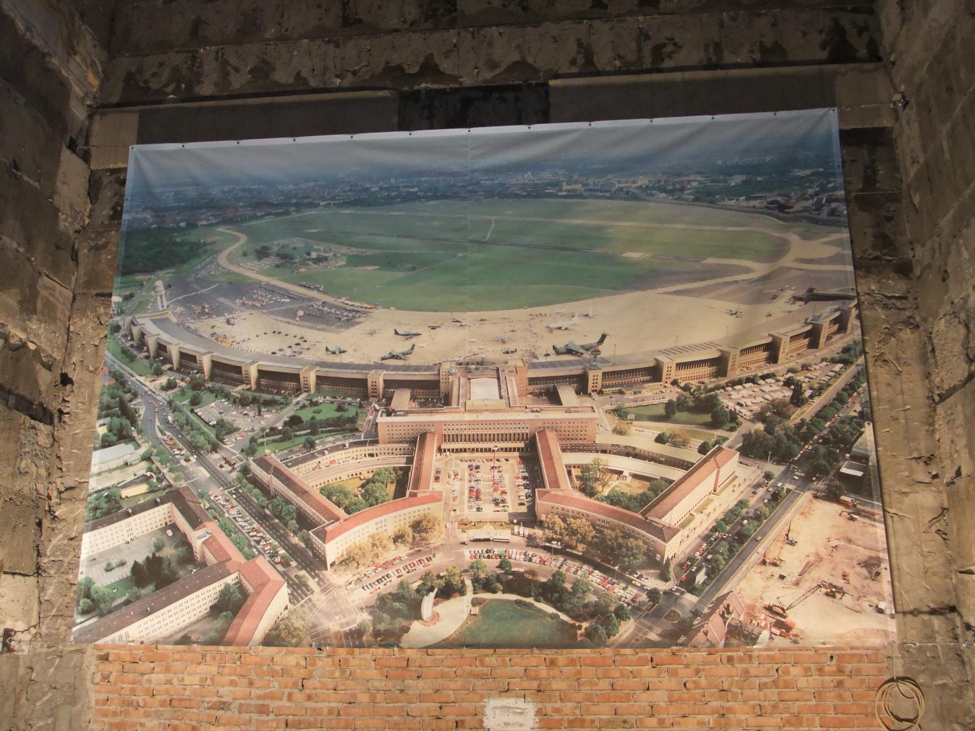 Berlin Tempelhof - stillgelegter Flughafen