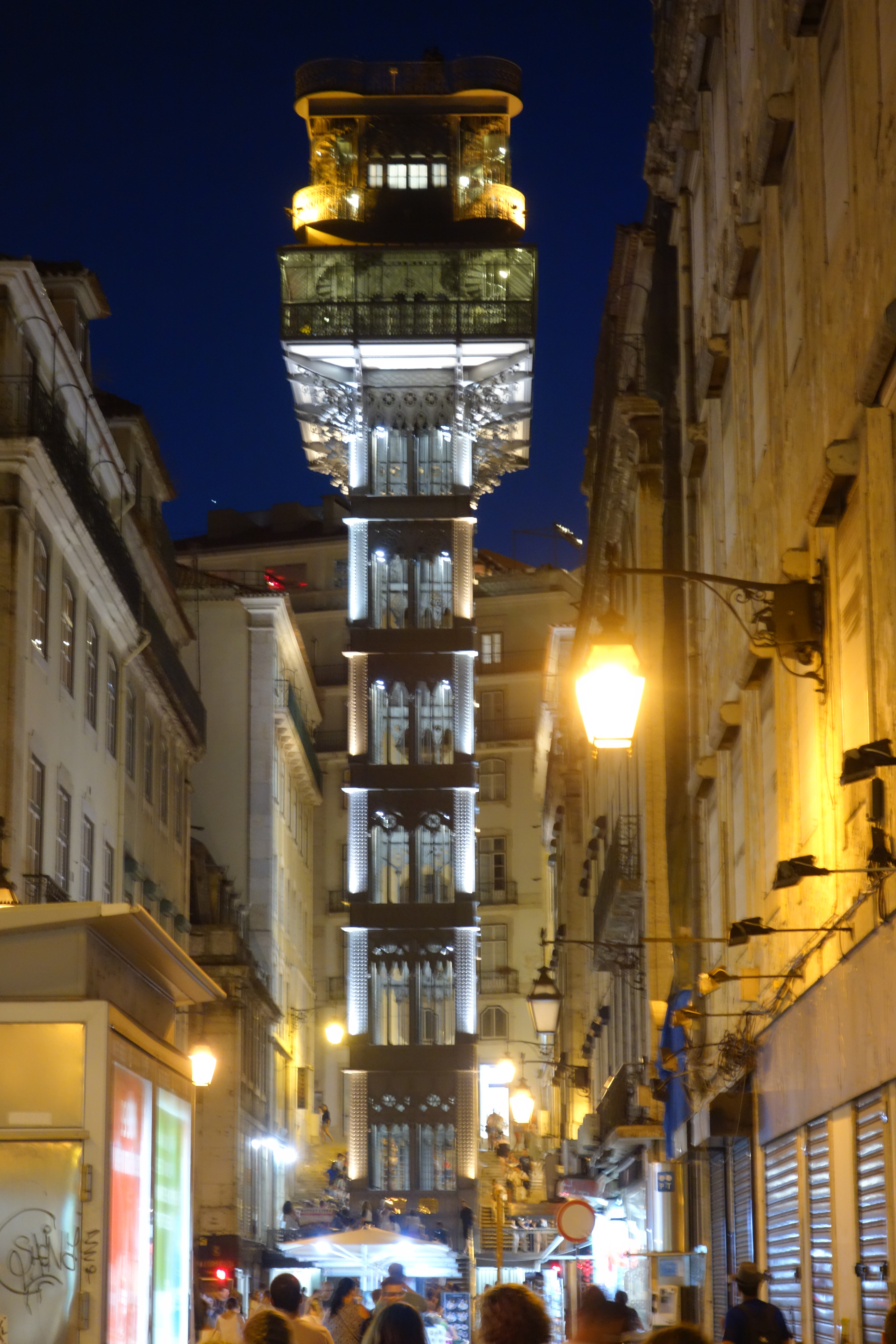 Lissabon : Elevador de Santa Justa