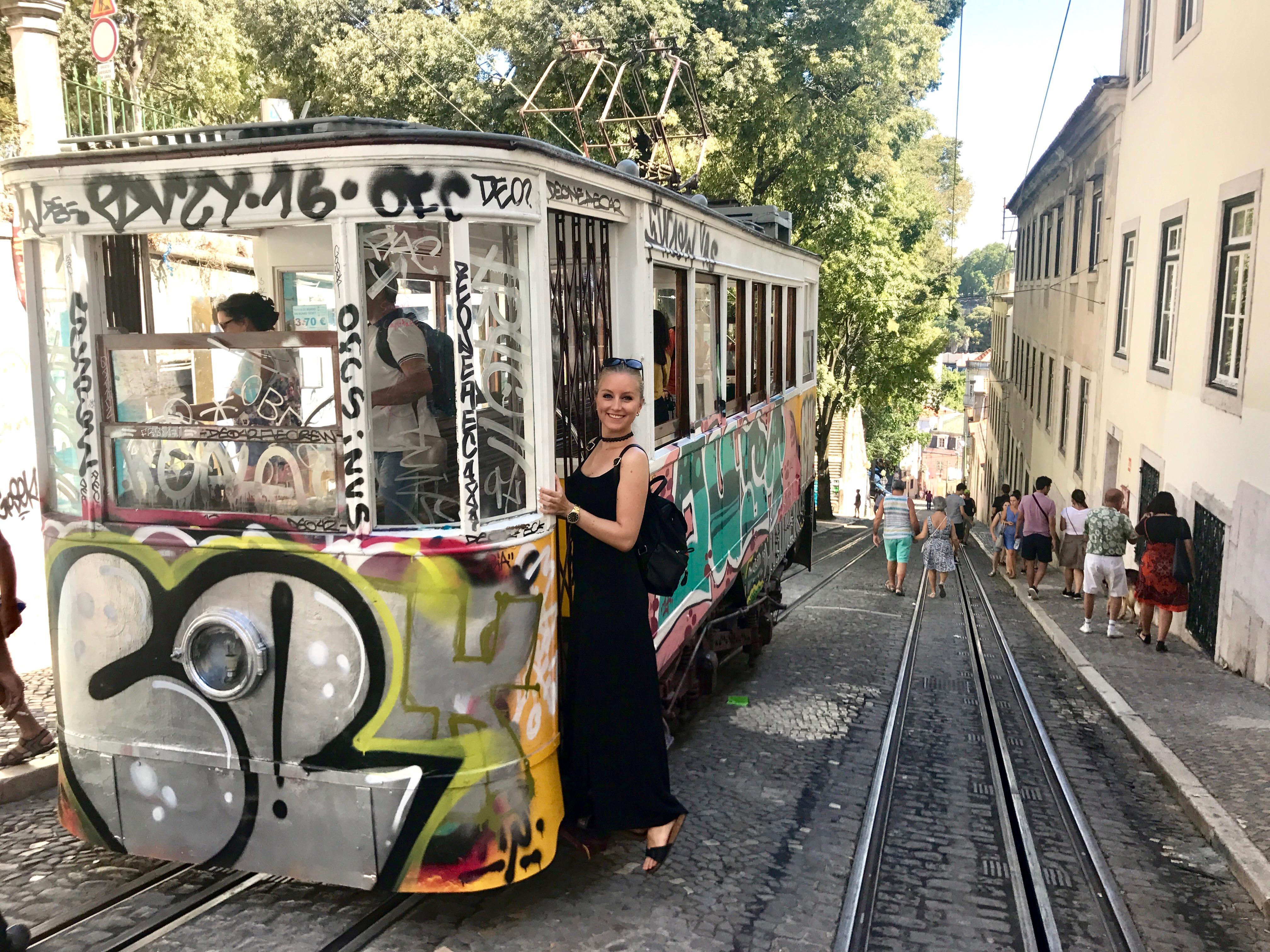 Lissabon : Elevador da Glória