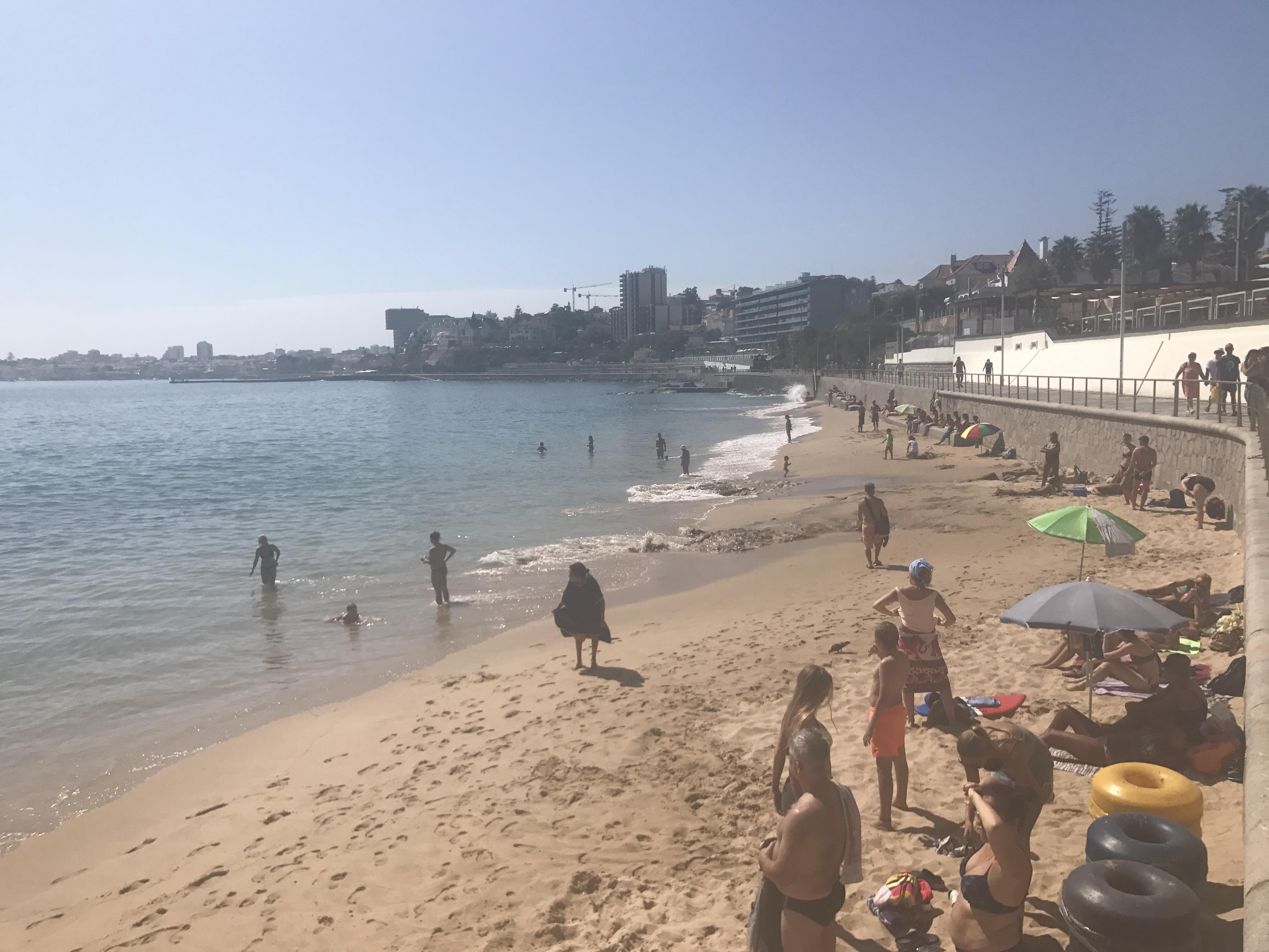 Strand Estoril (rechte Seite)