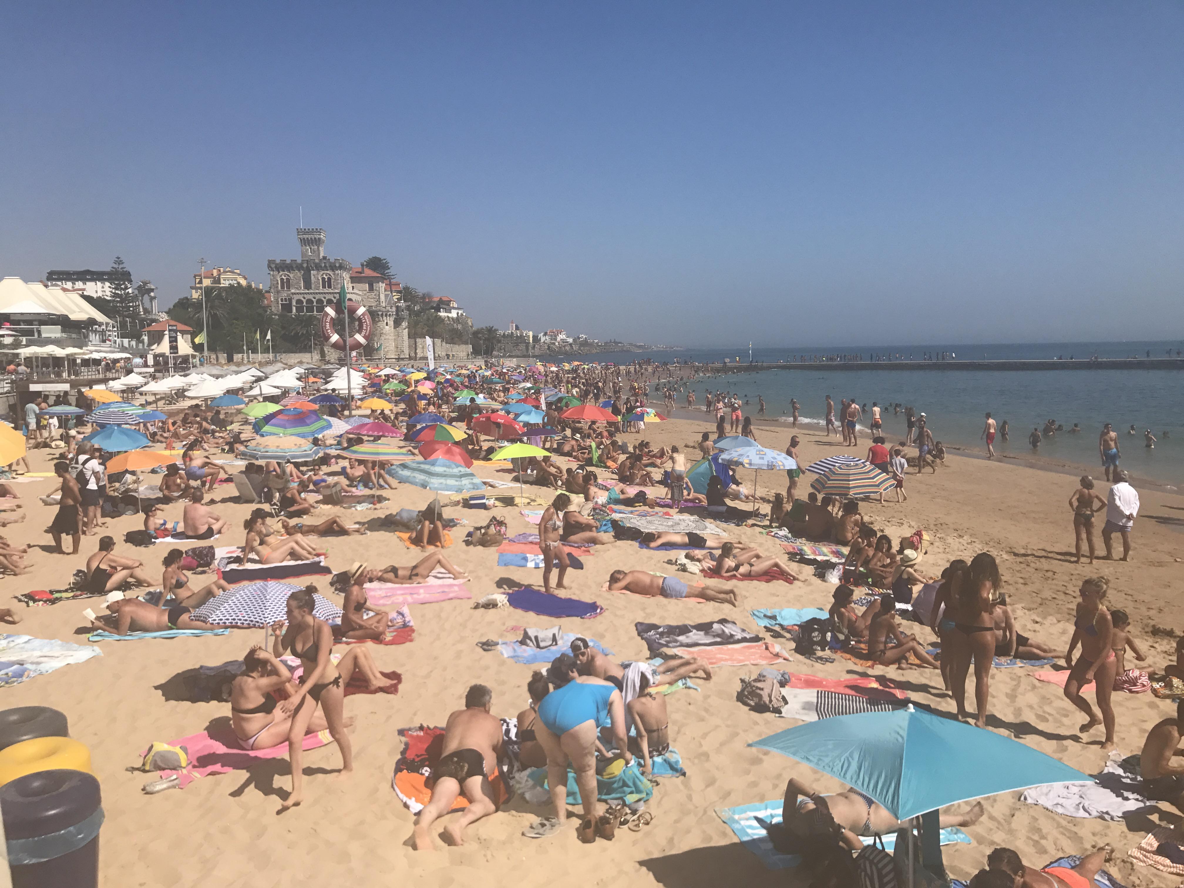 Strand Estoril (linke Seite)