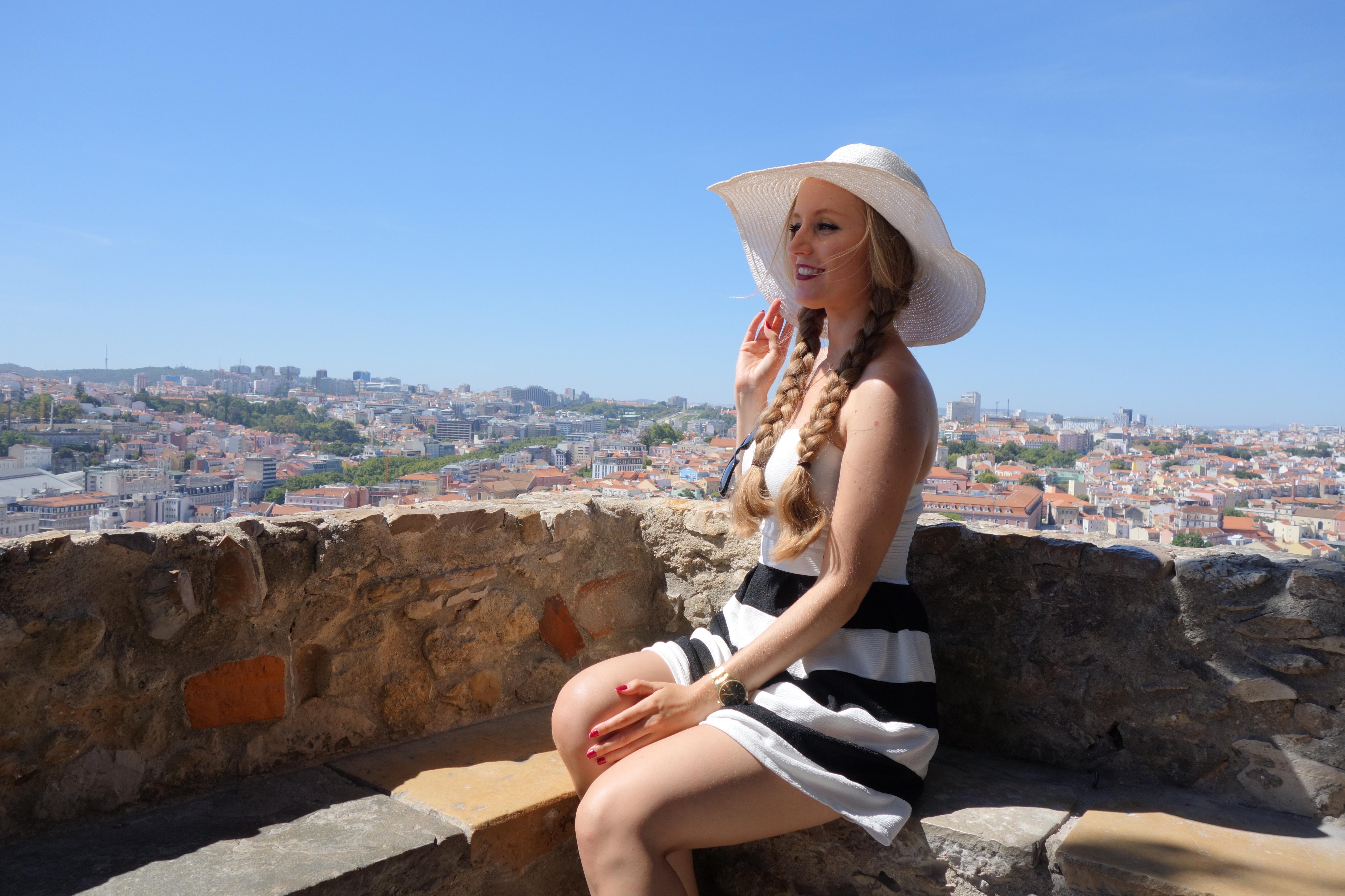 Lissabon: Aussicht von Castello de São Jorge