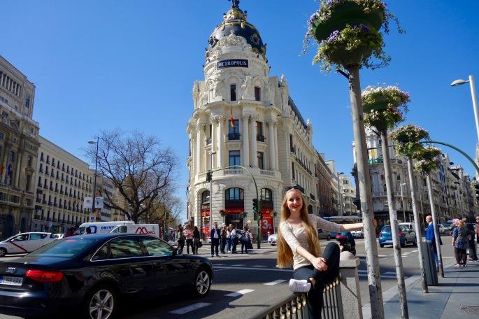 """Madrid: Gran Vía, der """"spanische Broadway"""""""