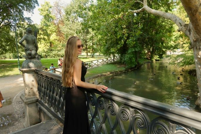 Mailand: Parco Sempione, hier hast du wunderschöne Ruhe mit den vielen Entchen