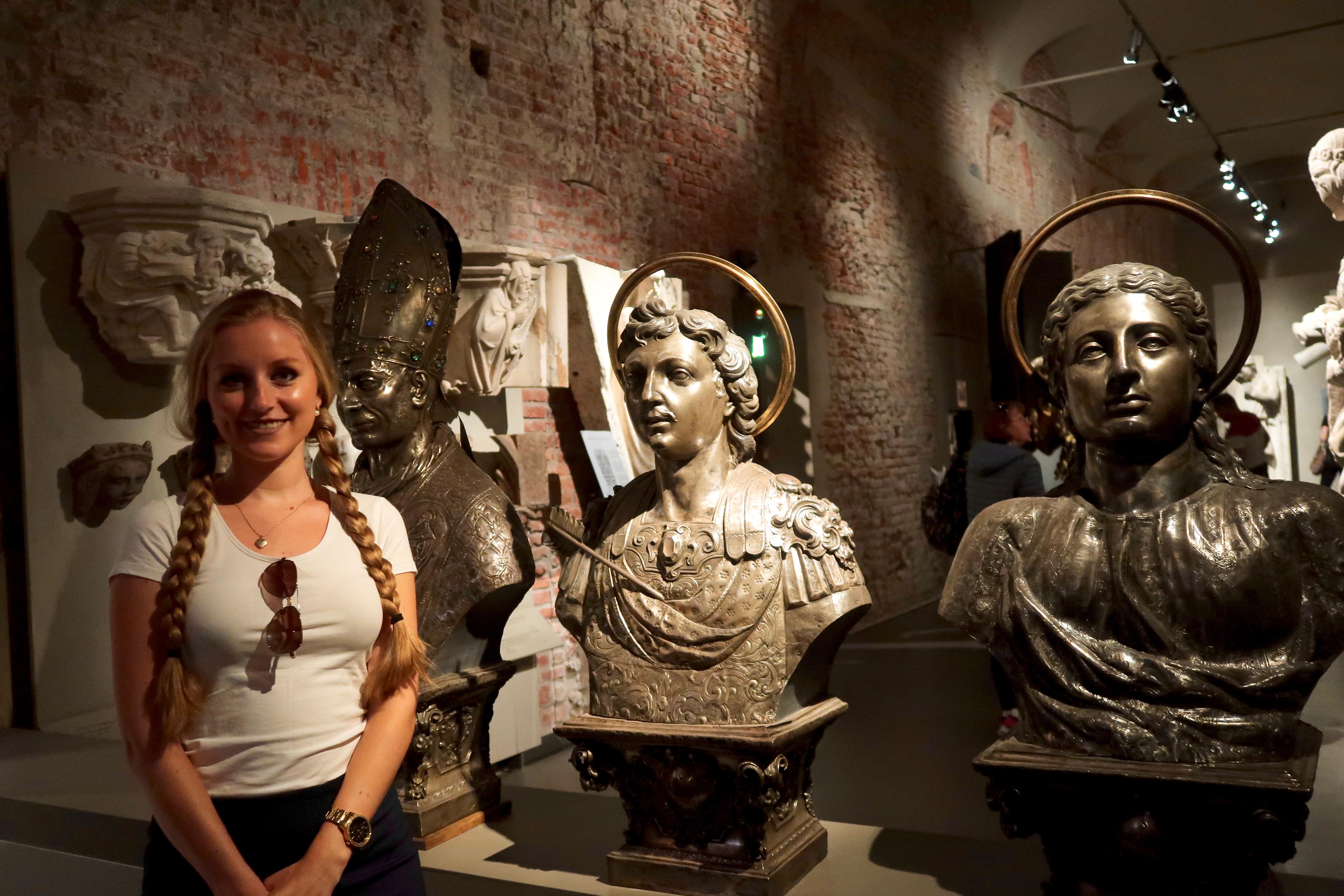 Mailand: im Dommuseum