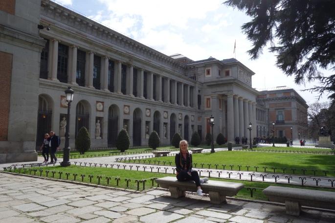 Madrid: Prado Museum, enthält Kunstwerke der bekanntesten spanischen Maler.