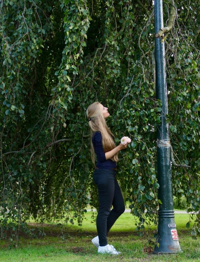 Enschede: ich im wunderschönen Volkspark